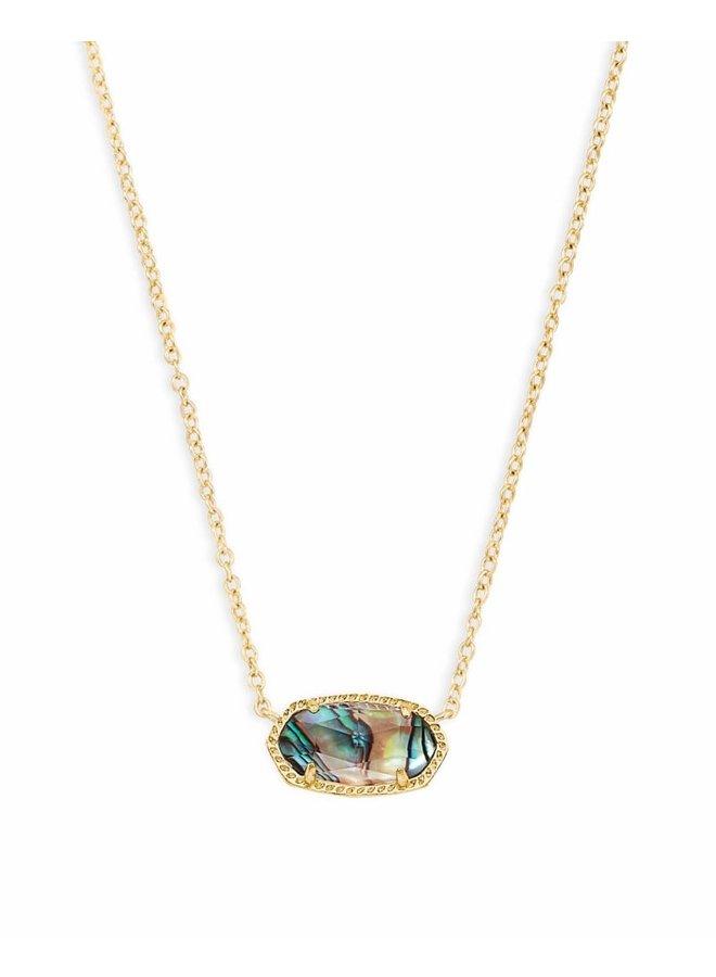 Elisa Necklace Gold Abalone Shell