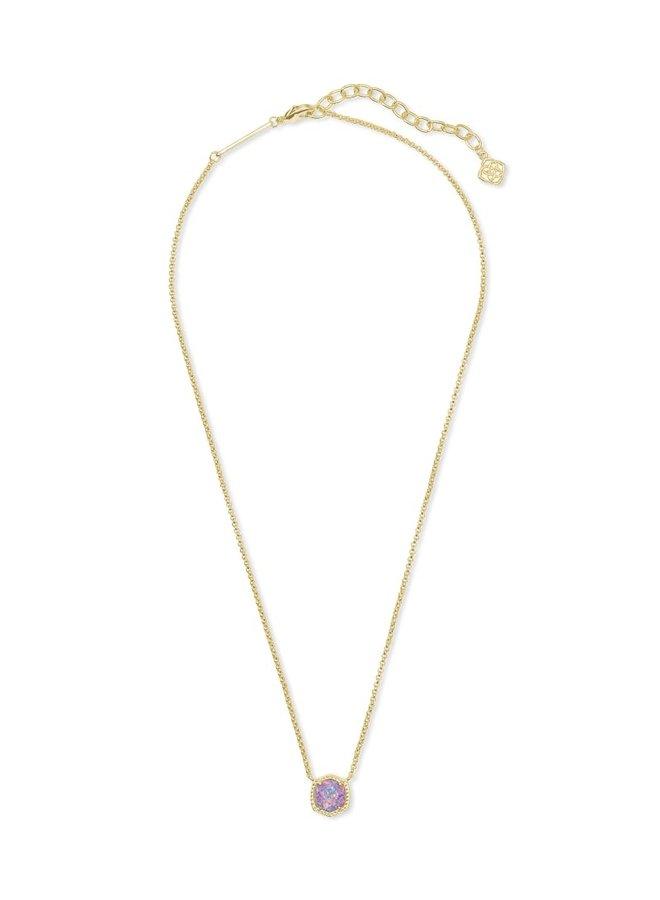 Davie Short Pendant Necklace