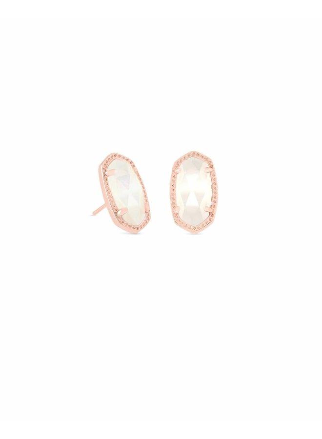 Ellie Stud Earring- Rose Gold