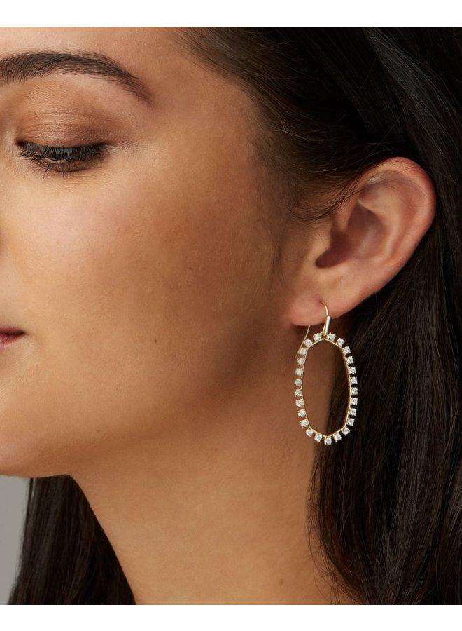 Elle Open Frame Earring