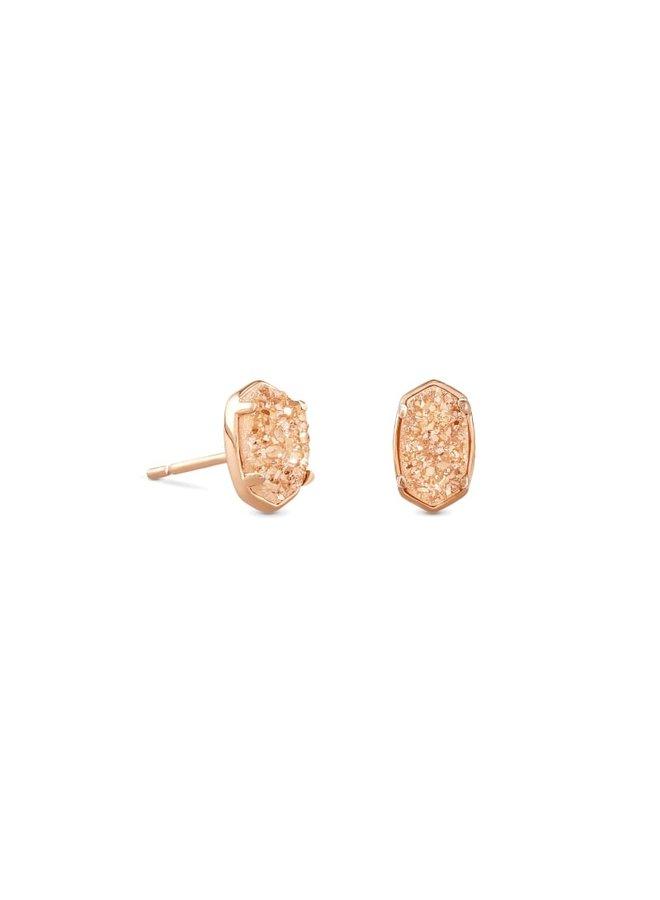 Emilie Rose Gold Stud Earring