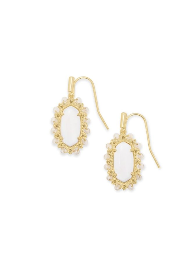 Beaded Lee Gold Earring