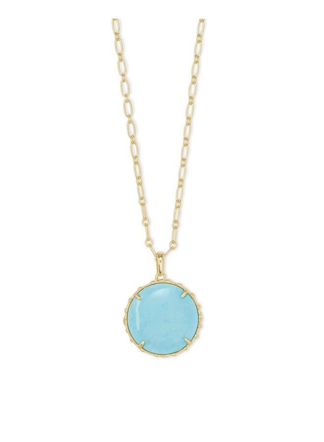Natalie Gold Pendant Necklace