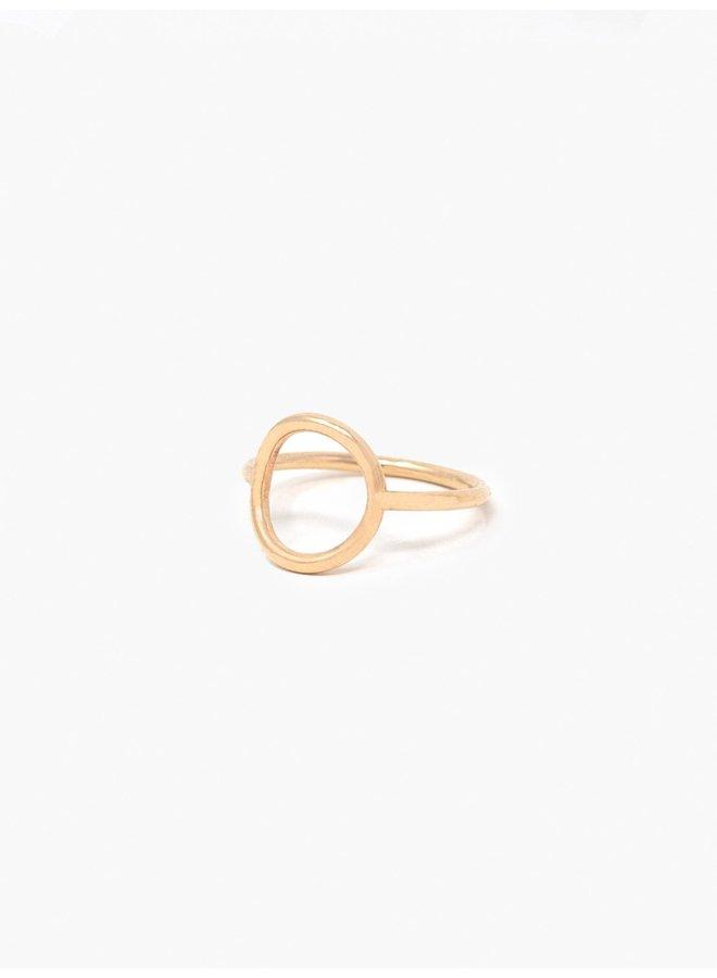 Gold Celine Ring
