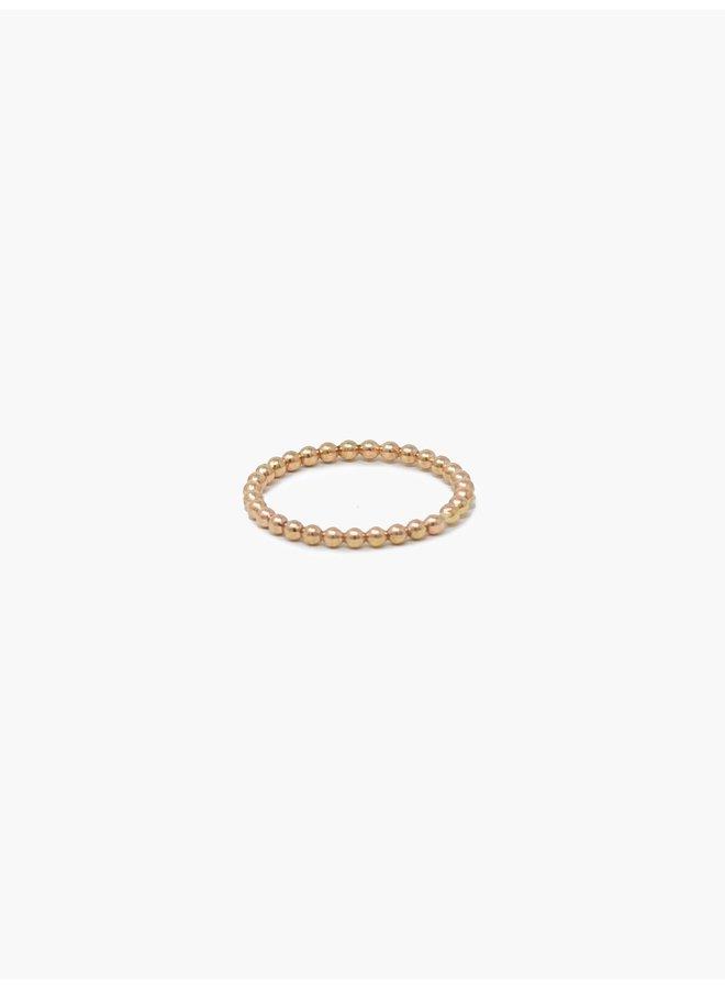 Gold Caesar Ring