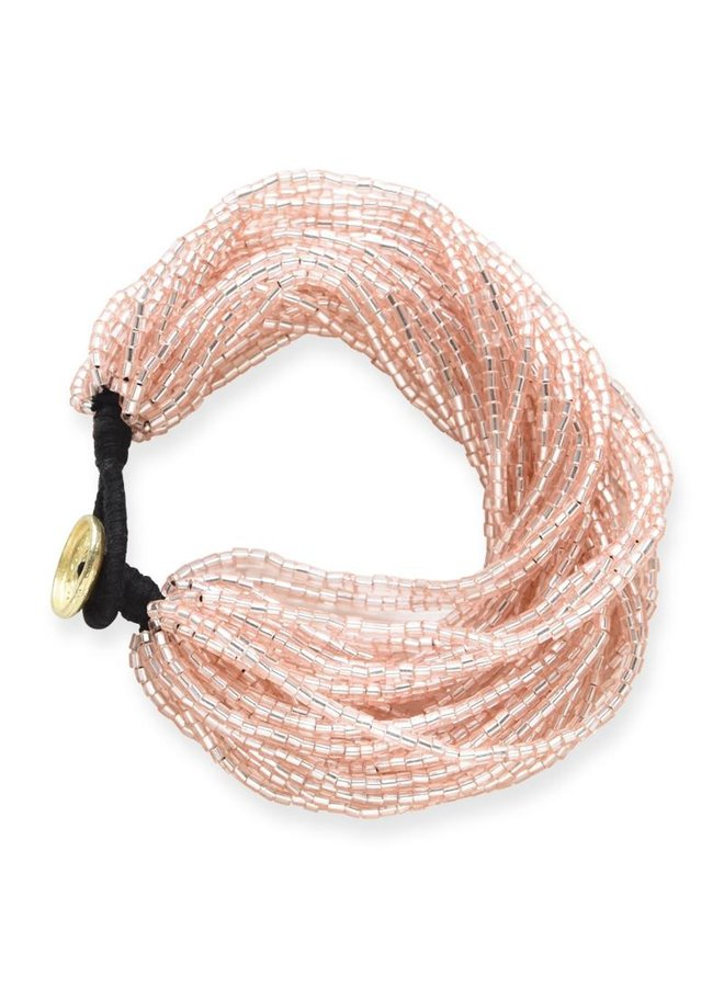 Multi Strand Seed Bead Bracelet
