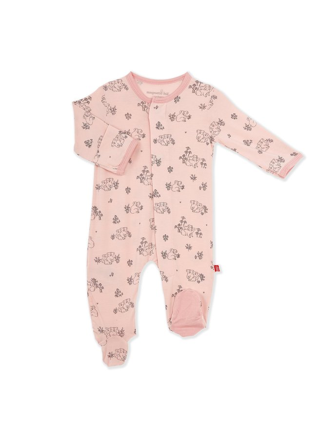 Koala Cuddles Organic Cotton Footie