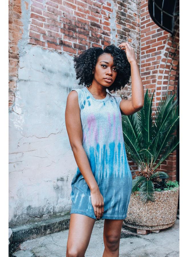 Antigua Tie Dye Jersey Tank Dress