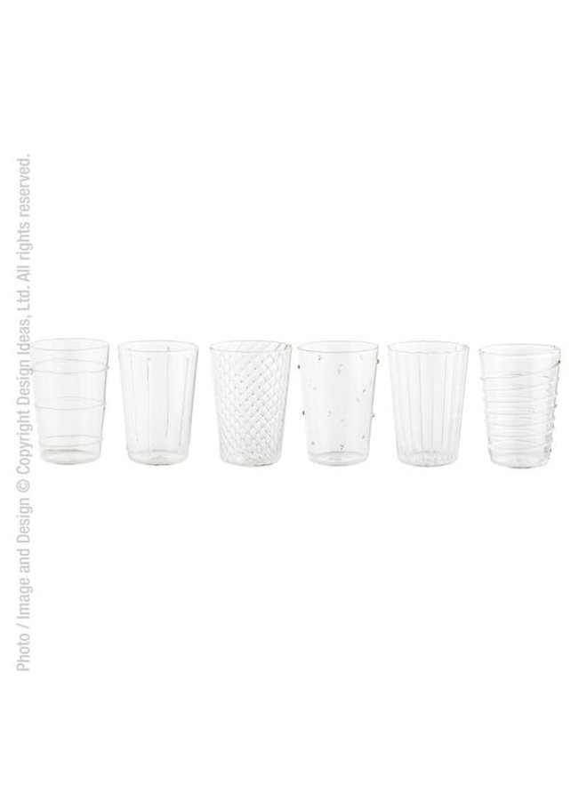 Livenza Drinking Glasses Set of 6