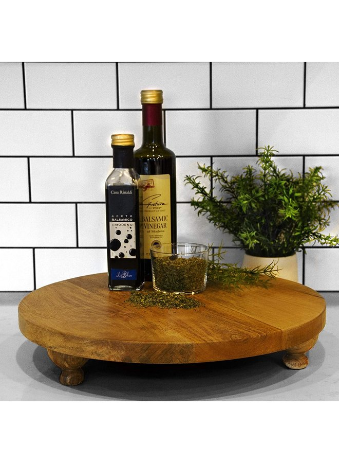"Artisan Wood 16"" Round Board/Natural"