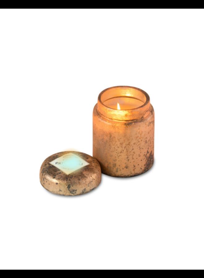 Fire Glass Lidded Jar