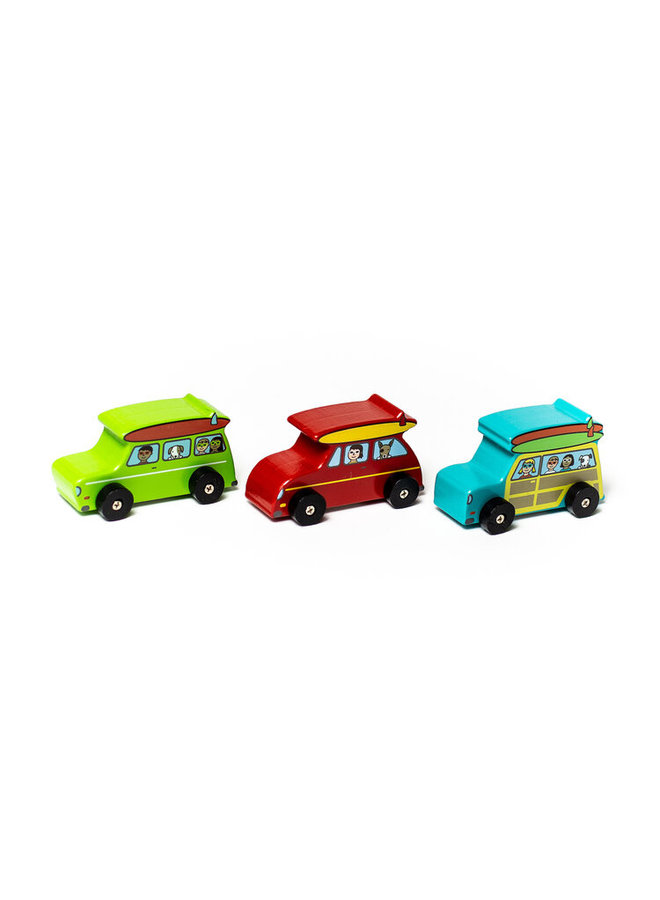 Surf's Up Dude Mini Rollers