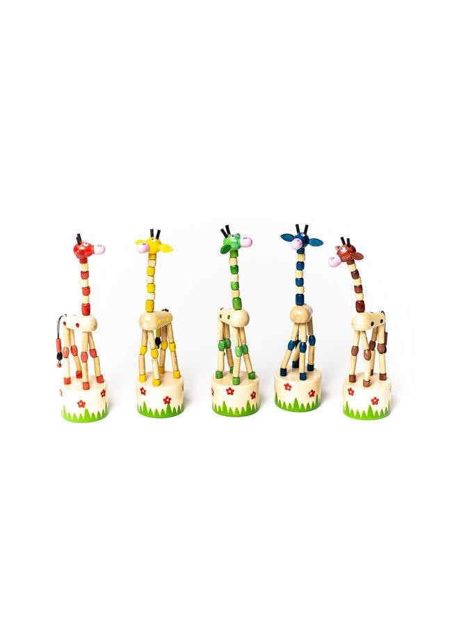 Giraffe Push Puppets