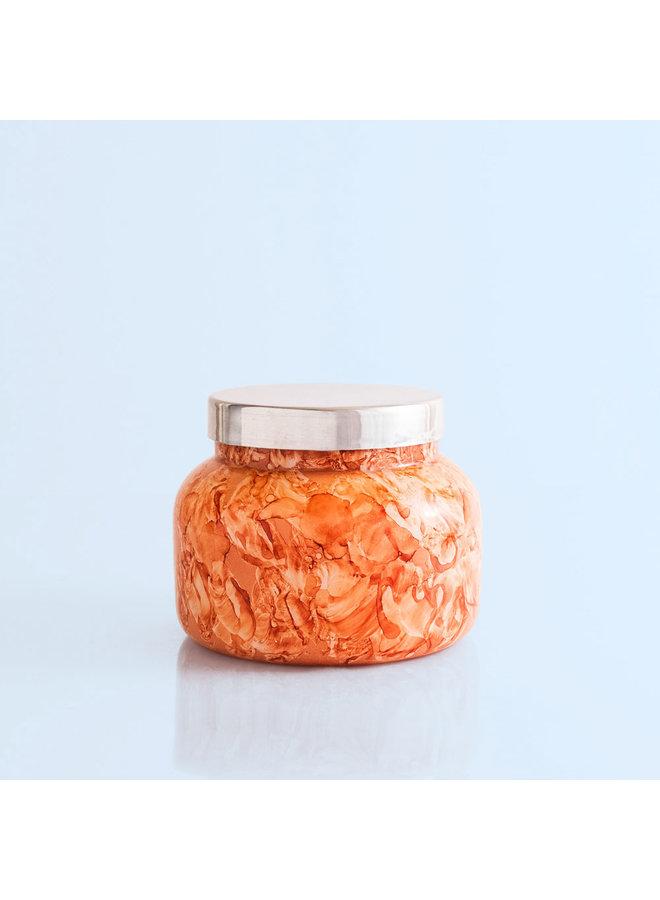 Watercolor Jar Candle