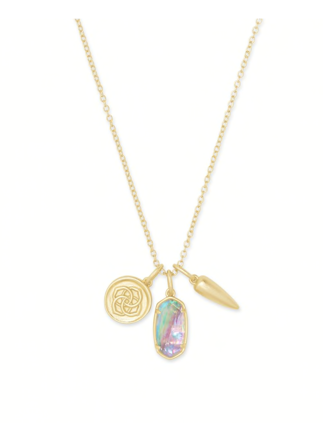 Dira Coin Charm Necklace