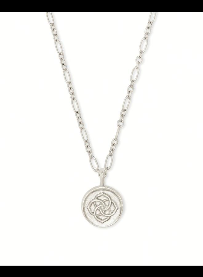 Dira Coin Pendant Necklace
