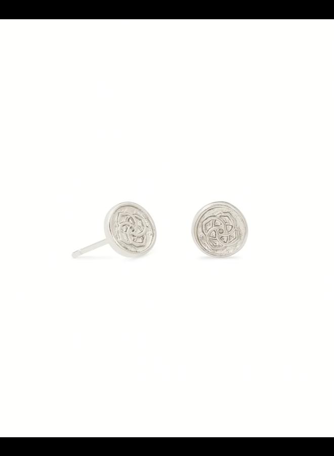 Dira Coin Stud Earring