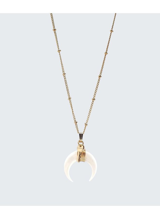Crescent Horn Necklace