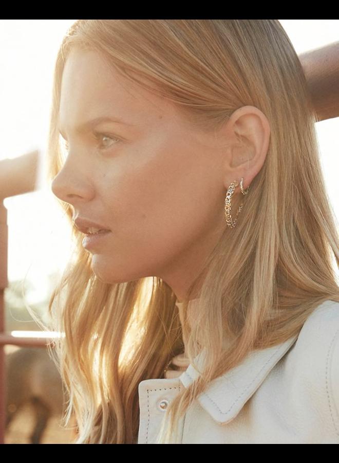 Maggie Huggie Earring Filigree