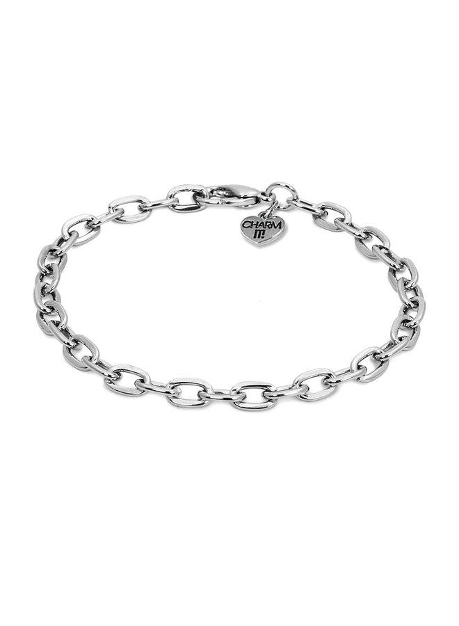CHARM IT! Silver Chain Bracelet