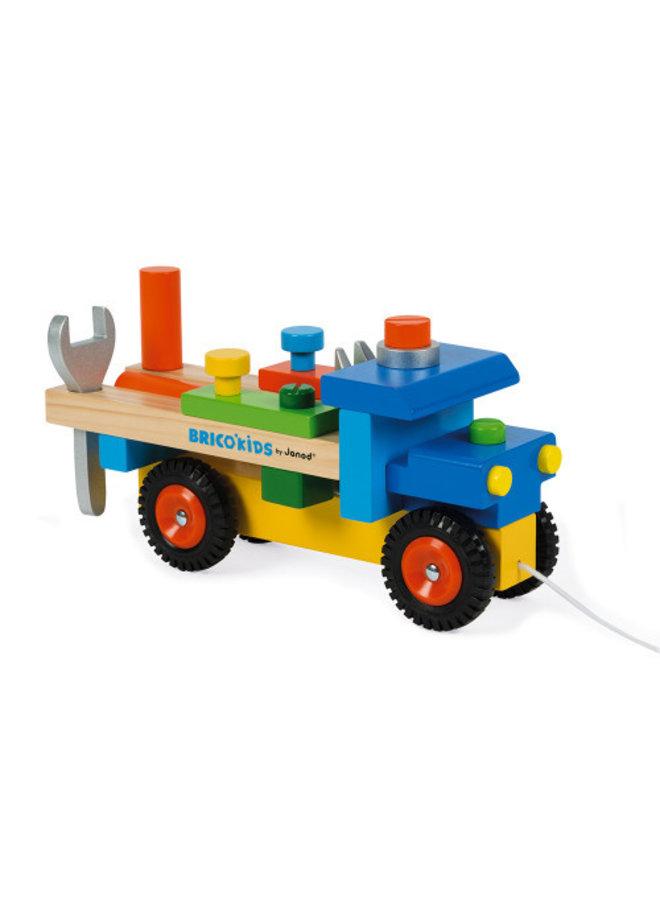 Brico' Kids DIY Construction Truck