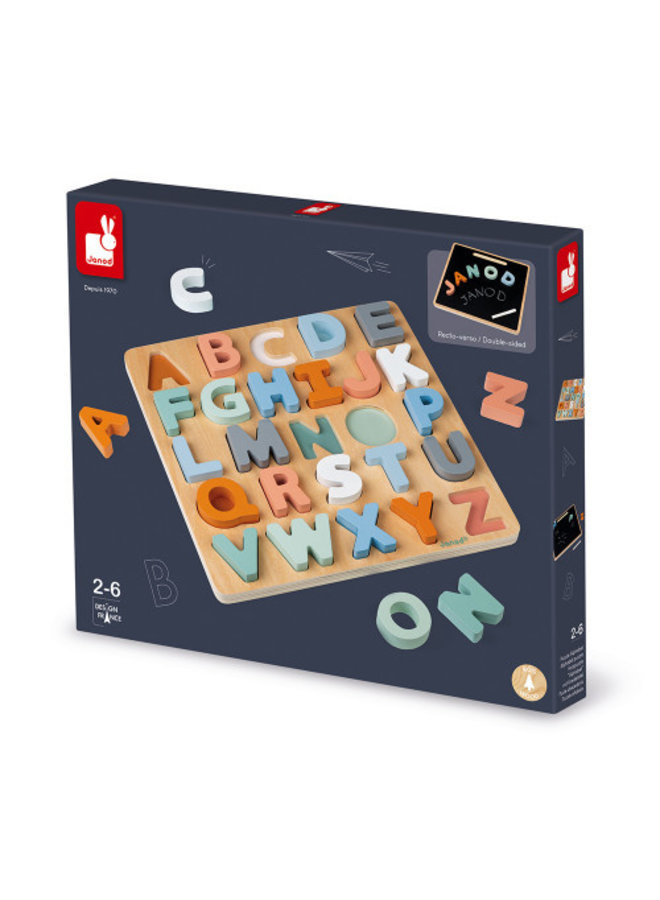 Sweet Cocoon Stacking ABC Puzzle