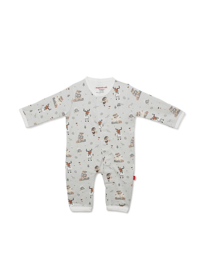 Perfect Sunday Organic Cotton Magnetic Coverall