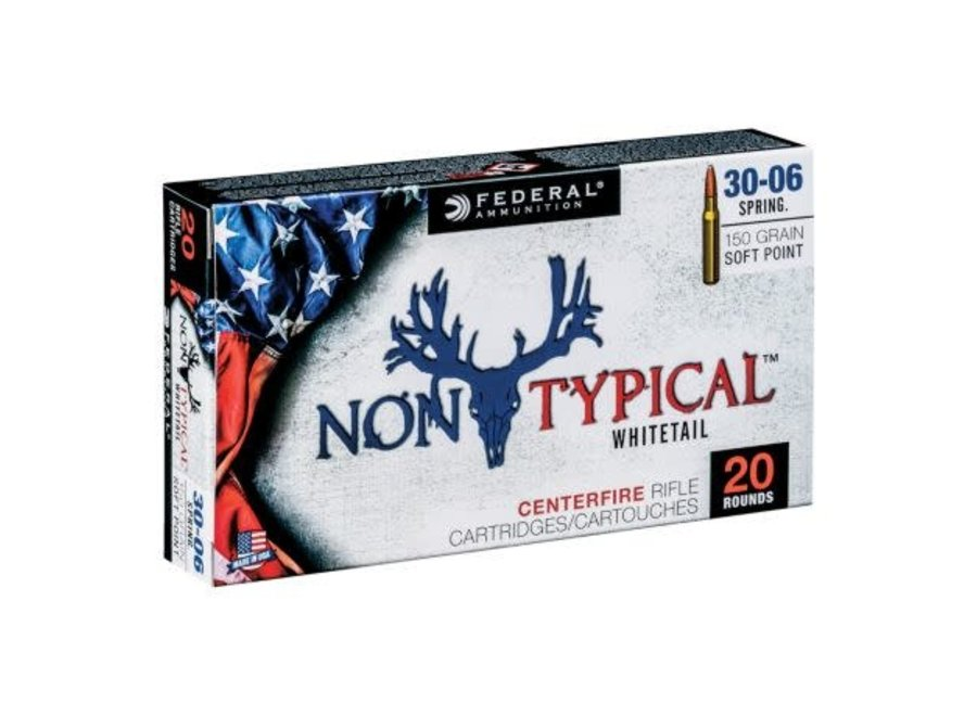 Federal Non-Typical Whitetail Ammo