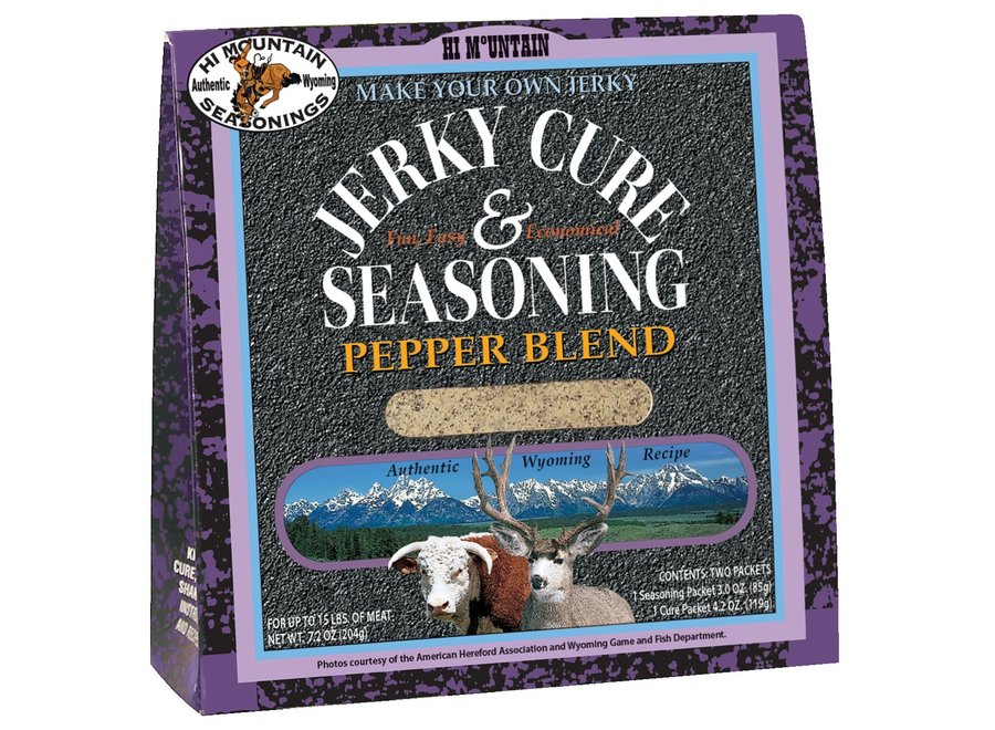 Hi Mtn Jerky Cure & Seasoning Pepper Blend