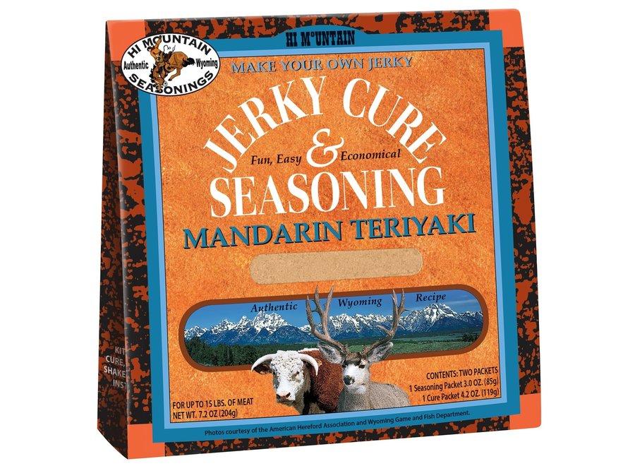 Hi Mountain Jerky Cure & Seasoning Mandarin Teriyaki