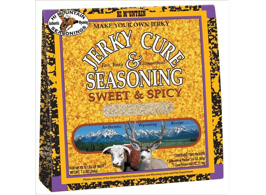 Hi Mtn Jerky Cure & Seasoning Sweet & Spicy