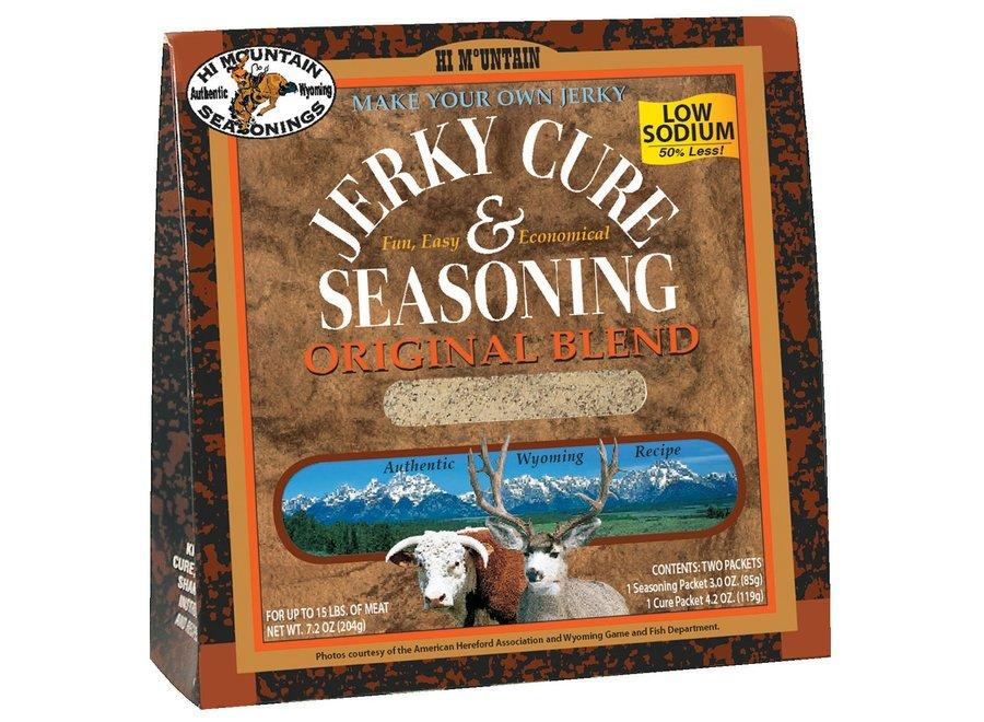 Hi Mtn Jerky Cure & Seasoning Original Low Sodium