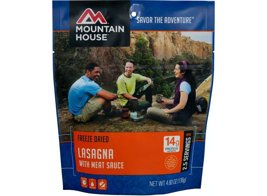 Mountain House Lasagna w/Meat Sauce
