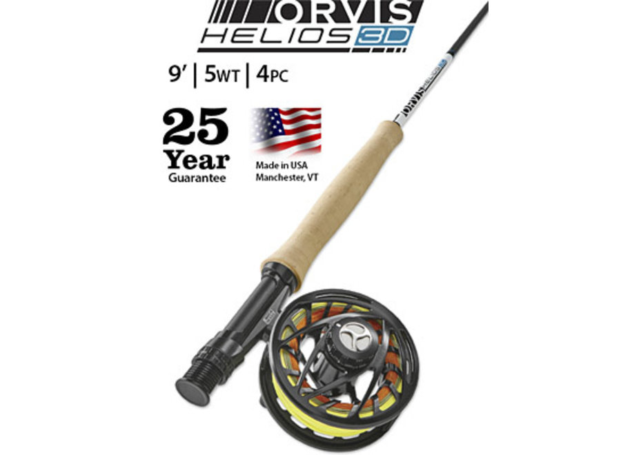 Orvis Helios 3F 9' 4 pc 5wt Fly Rod Only