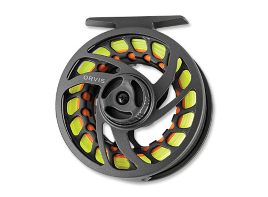 Orvis Clearwater Large-Arbor IV 7-9WT Reel-Gray