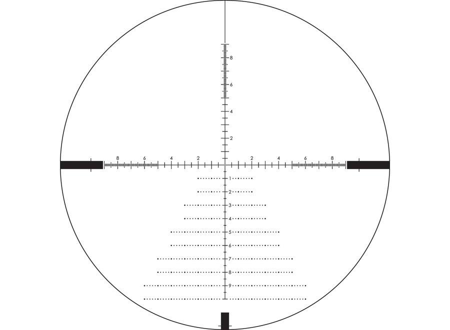 Vortex Diamondback Tactical 4-16x44 EBR-2C MRAD reticle