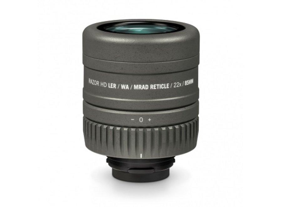 Vortex Razor HD Ranging Eyepiece w/MRAD Reticle 85mm