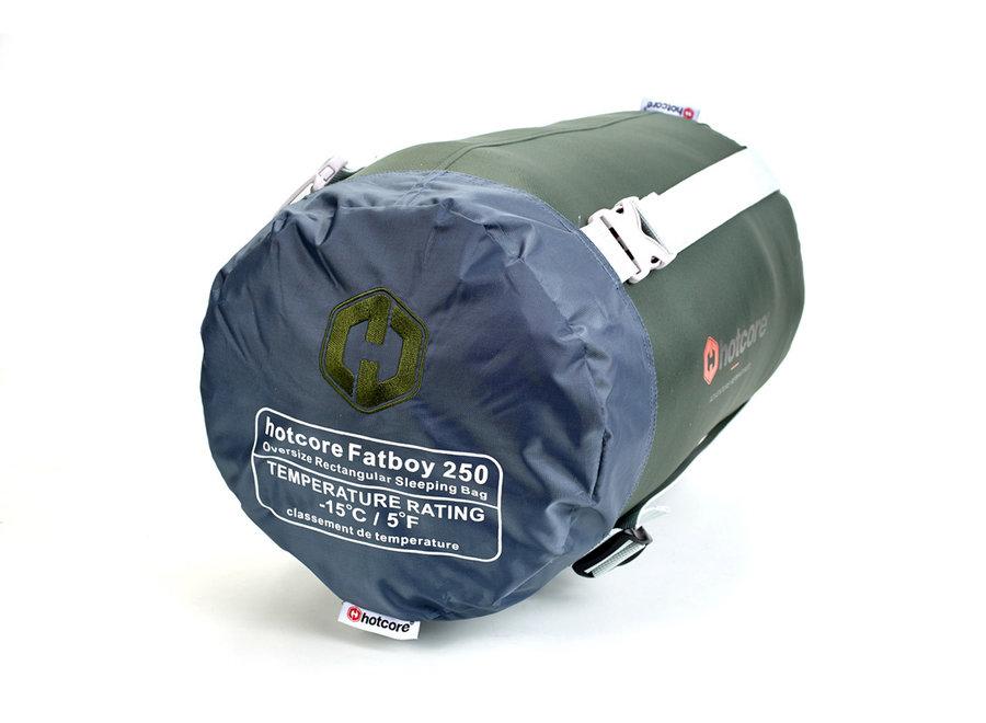 Hotcore Fatboy 250 Green Sleeping Bag