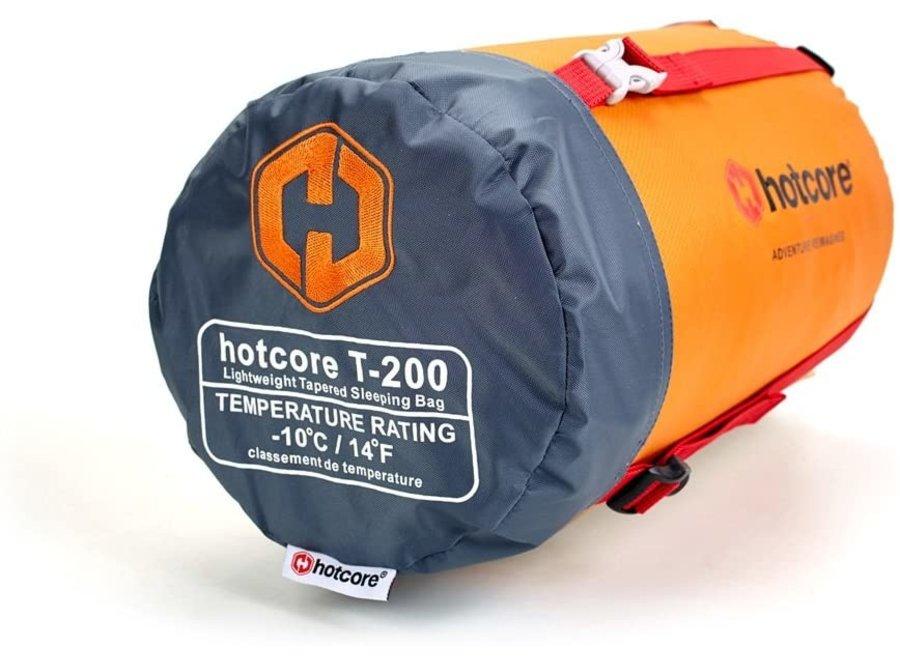 Hotcore T-200 Sleeping Bag Orange