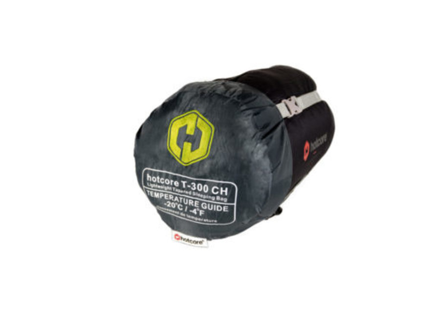 Hotcore T-300 Sleeping Bag Charcoal