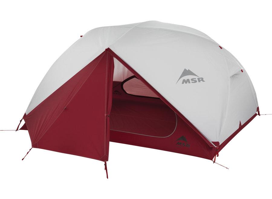 MSR Elixer 3 Red Tent