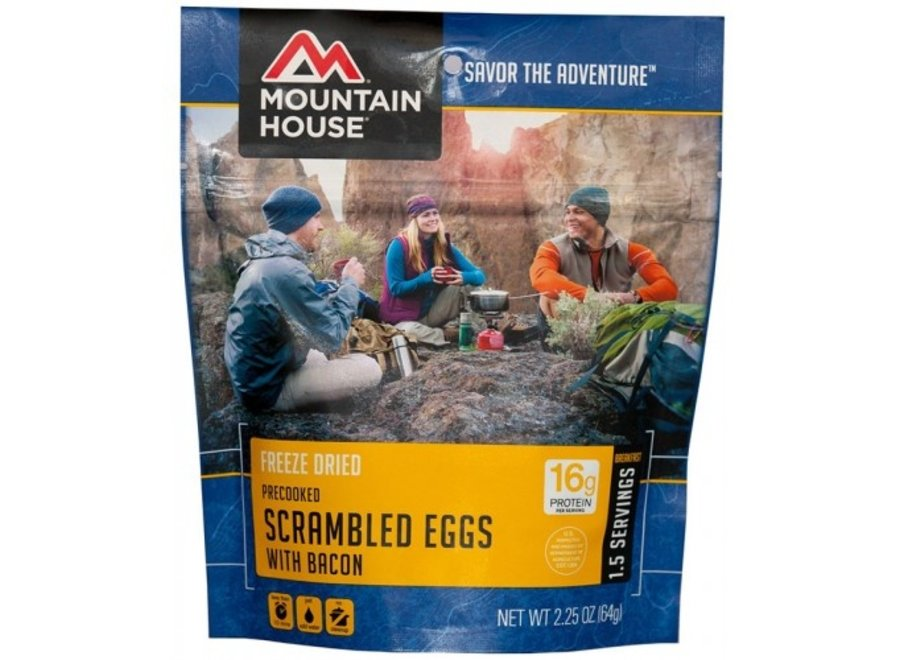 Mountain House Scrambled Eggs w/ Bacon
