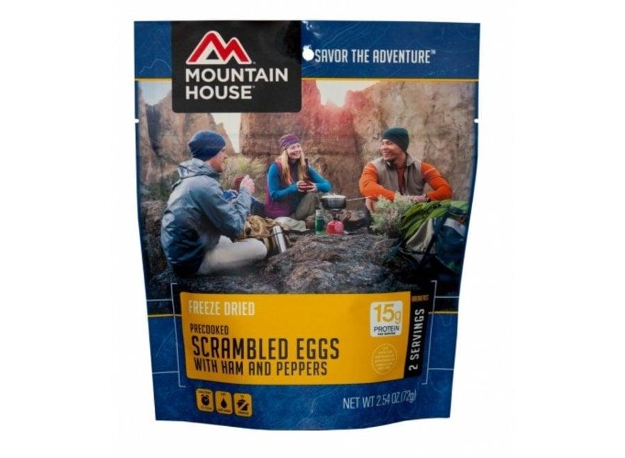 Mountain House Scrambled Eggs w/Ham & Peppers