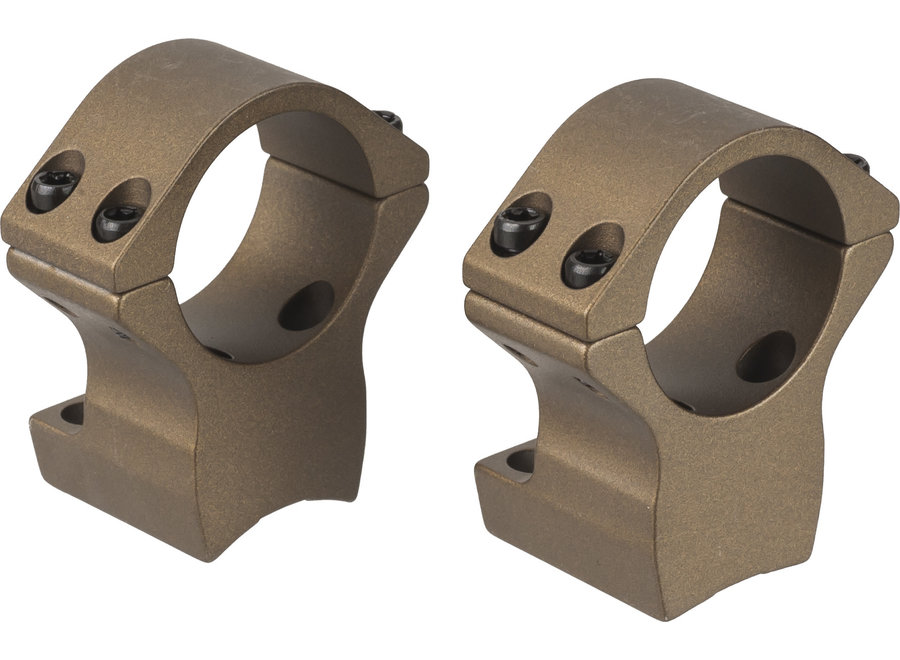 Talley Browning X-Bolt 1 Inch Rings Bronze Cerakote