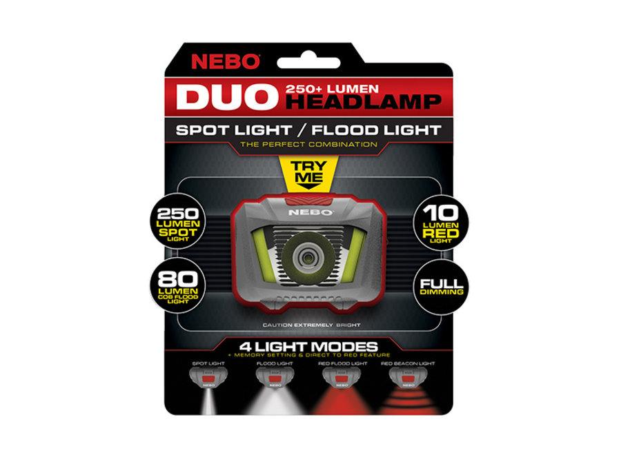 NEBO Headlamp  Duo 250+ Lumen