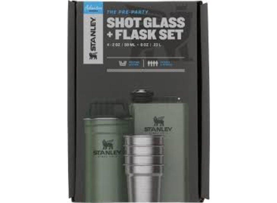 Stanley Adv Shot Glass & Flask Set