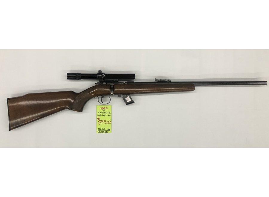 Used Anschutz Model 1441-42 22LR