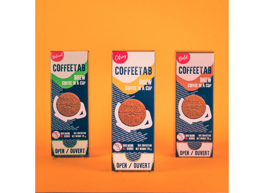 Coffeetab 10Pk Dark Roast Bold