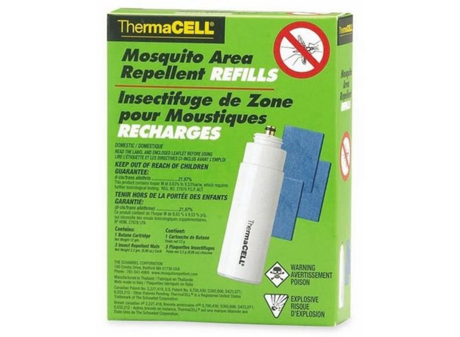 Thermacell Mosquito Repellent Refills - 48 Hours R4