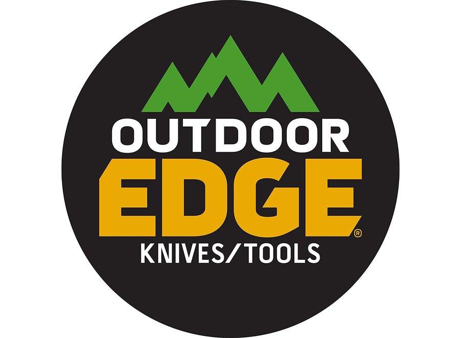 Outdoor Edge AS-300C Aero-Strike Throwing Knives, with Black Nylon Sheath
